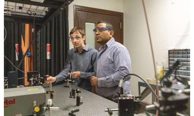 UCF develops new method to explore what happens inside fires and explosions