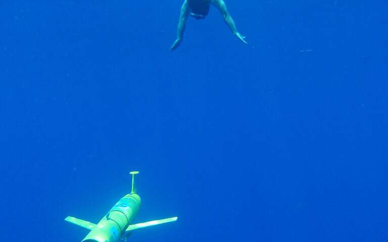 Underwater robotic gliders provide key tool to measure ocean sound levels