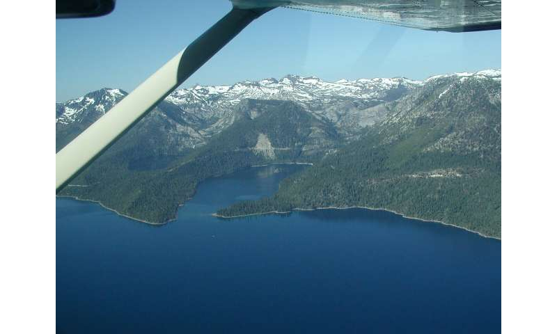 Underwater surveys in Emerald Bay reveal the nature and activity of Lake Tahoe faults