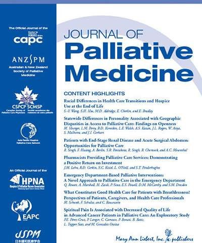 Unique case of cannabis hyperemesis syndrome in palliative care