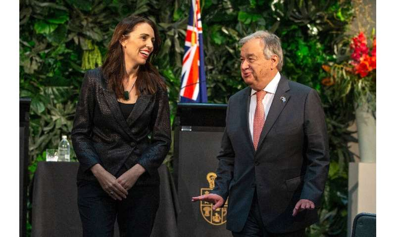 United Nations Secretary-General Antonio Guterres  said international political resolve was fading and it was the small island n