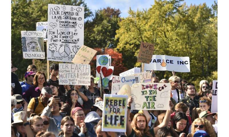 UP to 500,000 climate protesters poured into the streets of Montreal in September, 2019