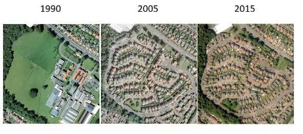 Urbanisation costs Edinburgh over 11 hectares of green land each year