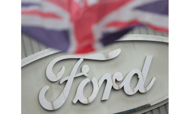 US automaker Ford, which employs 13,000 people in Britain including at this plant in Dagenham, East London, suggested on that a