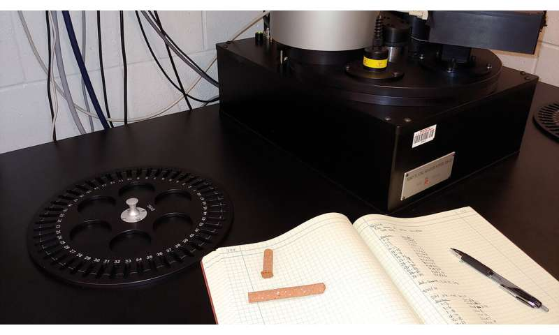 Using building materials to monitor for high enriched uranium