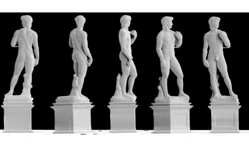 Using innovative 3-D printing method, researchers reproduce Michelangelo's David