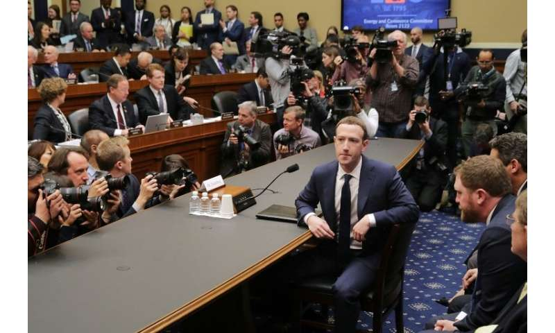 US lawmakers are vowing to consider new online privacy legislation after hearing from tech leaders, including an April 2018 sess