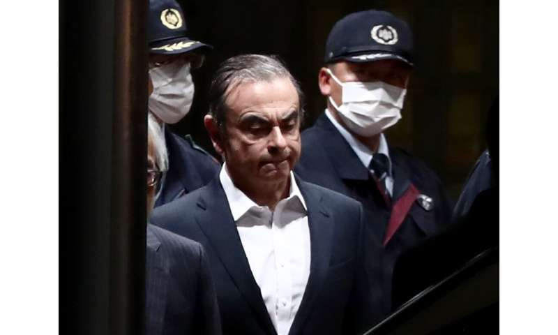 US securities regulators on Monday charged Japanese automaker Nissan and its former CEO Carlos Ghosn with hiding more than $140