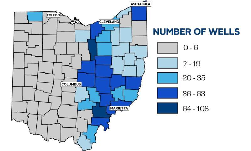UToledo research links fracking to higher radon levels in Ohio homes