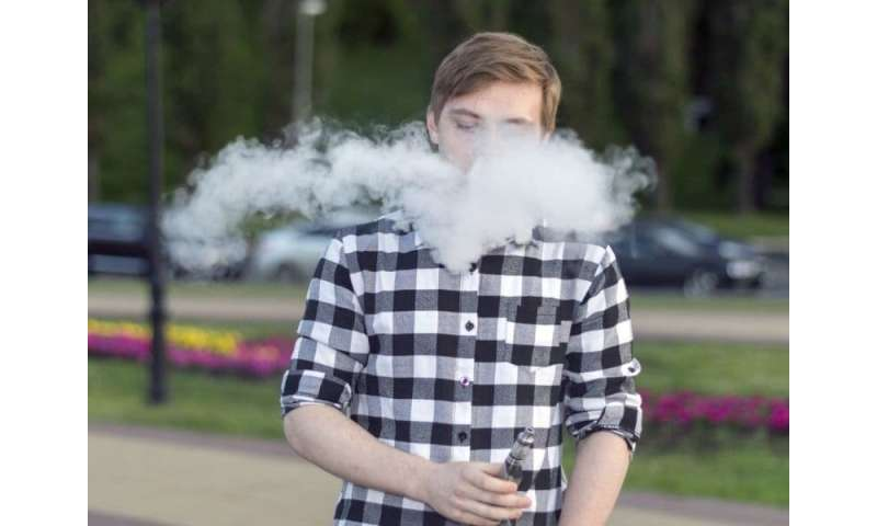 Vaping likely to blame for 14 hospitalizations in two states