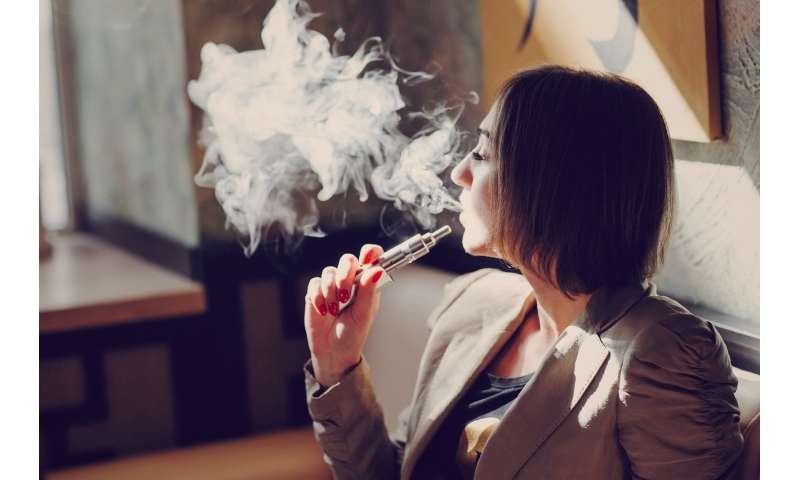 Vaping: smokers who switch could be less likely to use cigarettes again