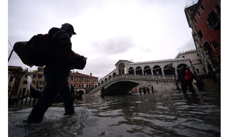 Venetians are accustomed to flooding but the wave of inundations last week was unprecedented in modern times, with Tuesday's hig