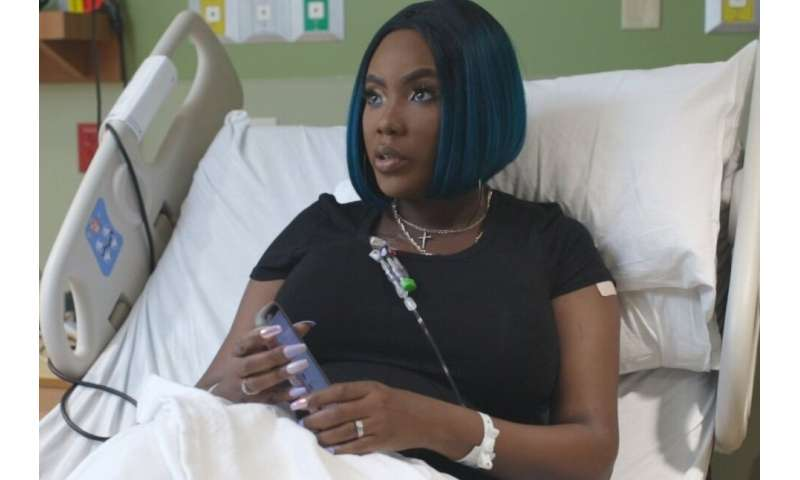 Victoria Gray's blood was drawn so that doctors could get to the cause of her illness—stem cells from her bone marrow that were