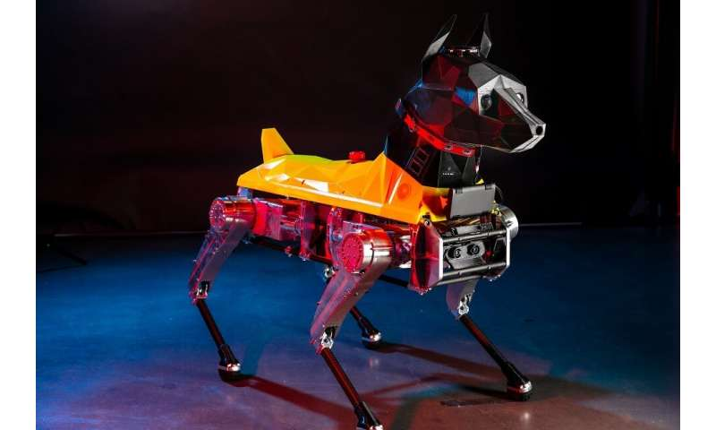 Video: Engineers show off Astro the robot dog