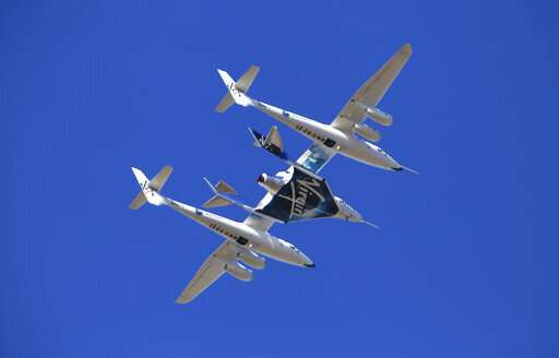 Virgin Galactic: Rocket reaches space again in test flight