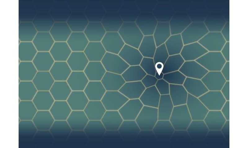 Virtual 'moonwalk' for science reveals distortions in spatial memory