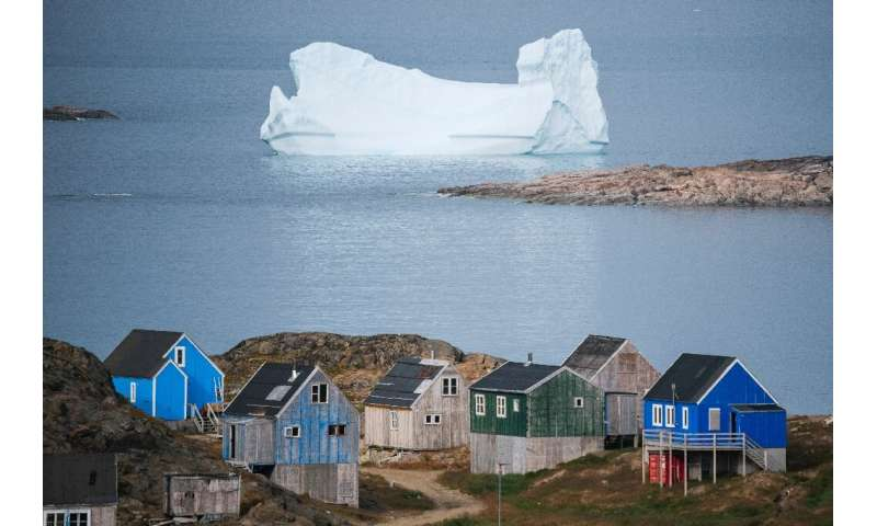 Visitors can watch icebergs drift by in the summer
