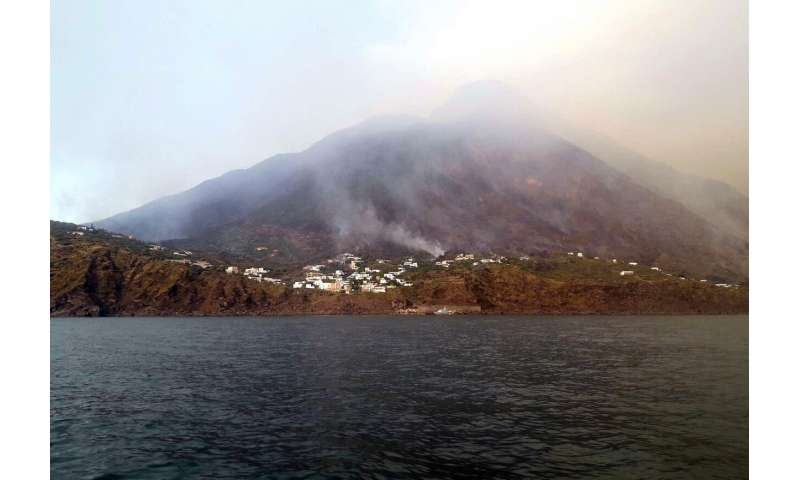Volcano erupts on Sicily's Stromboli island; 1 person killed