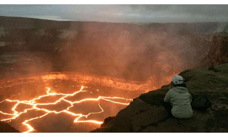 Volcanologist jams to the beat of the Earth's drummer