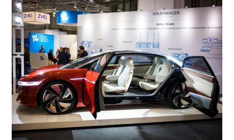 Volkswagen's ID. Vizzion all-electric concept car