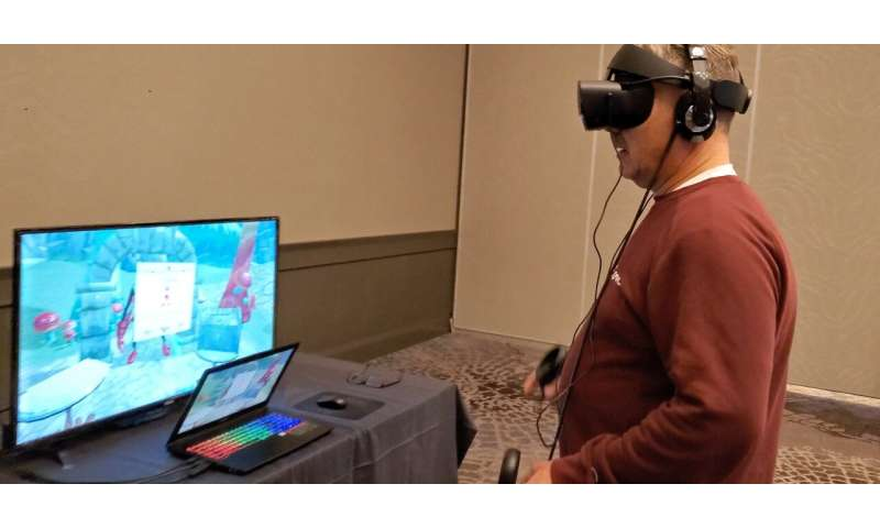 VR game gives users 'eyes-on' experience with vision loss