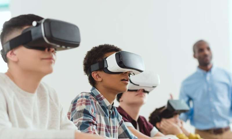 Walk inside a plant cell or glide over a coral reef: three ways virtual reality is revolutionising teaching