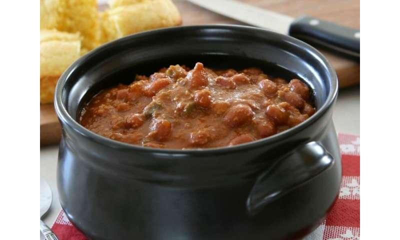 Warm up to turkey chili