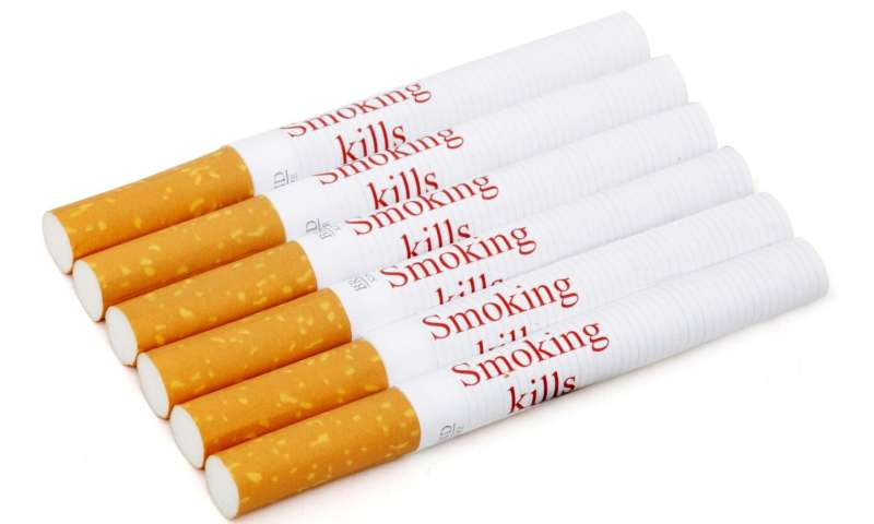 Warnings on individual cigarettes could reduce smoking