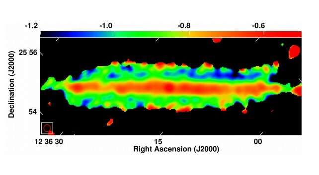 **Warped diffusive radio halo detected around the galaxy NGC 4565