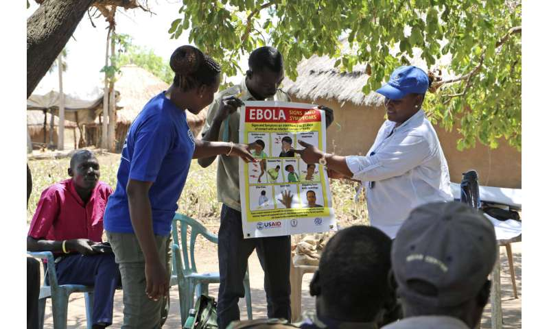 War-weakened South Sudan tries to prepare for Ebola