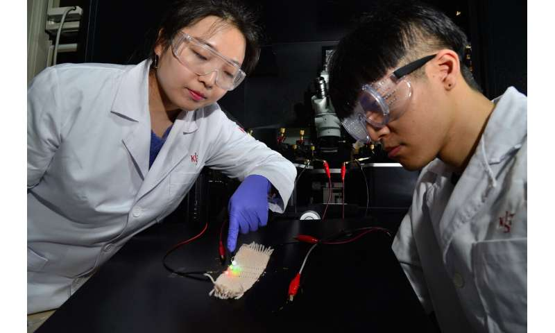 Washable electronic textiles to usher in an era of even smarter wearable products