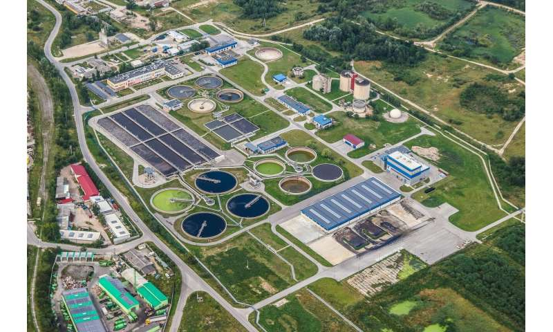 wastewater treatment plants