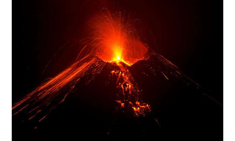 Water drives explosive eruptions; here's why magmas are wetter than we thought