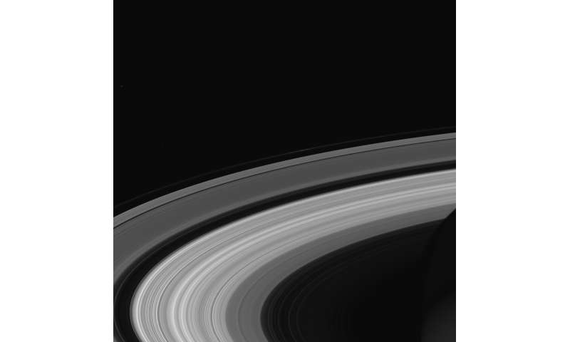 Waves in Saturn's rings give precise measurement of planet's rotation rate