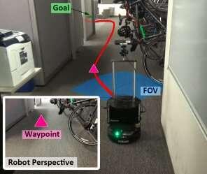 **WayPtNav: A new approach for robot navigation in novel environments