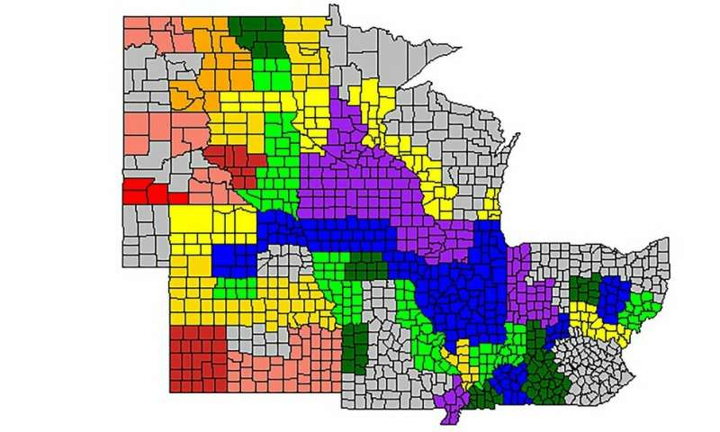 Weather at key growth stages predicts Midwest corn yield and grain quality, study says
