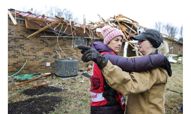 Weather officials: 24 tornadoes hit South over 2 days
