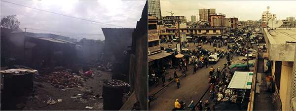 West Africa: human-induced air pollution is higher than expected