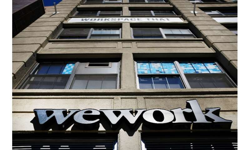 WeWork, which revealed plans this week for a share offering, operators thousands of shared office locations inlcuding this one i