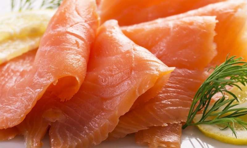 What is listeria and how does it spread in smoked salmon?