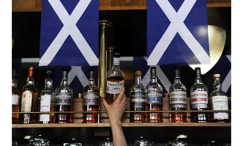 Whisky producers in Scotland have kept a clamour of protest
