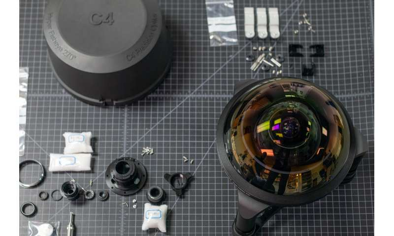 Why photography fans are geeking out over assembly video of fisheye lens