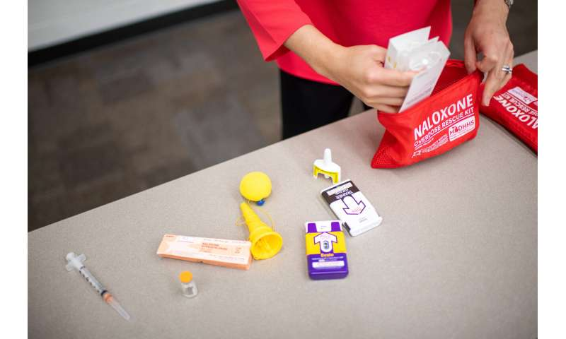 Wide distribution of Naloxone effective in preventing deaths
