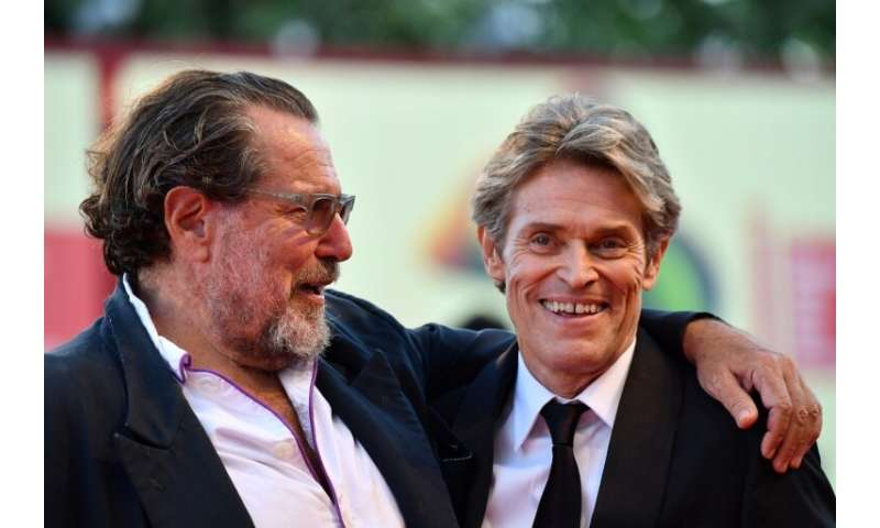 """Willem Dafoe, right, stars as Van Gogh in director Julian Schnabel's """"At Eternity's Gate"""", which depicts the painter's"""