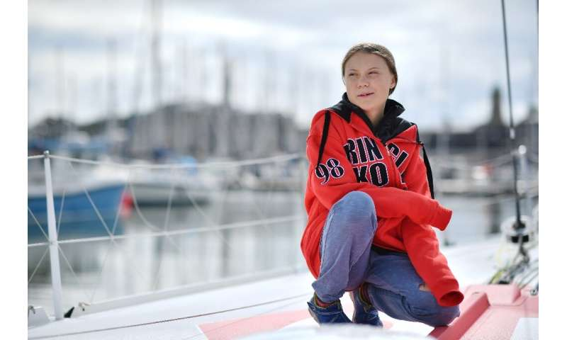 Wind in her sails: Greta Thunberg is heading to North America to continue her climate campaign