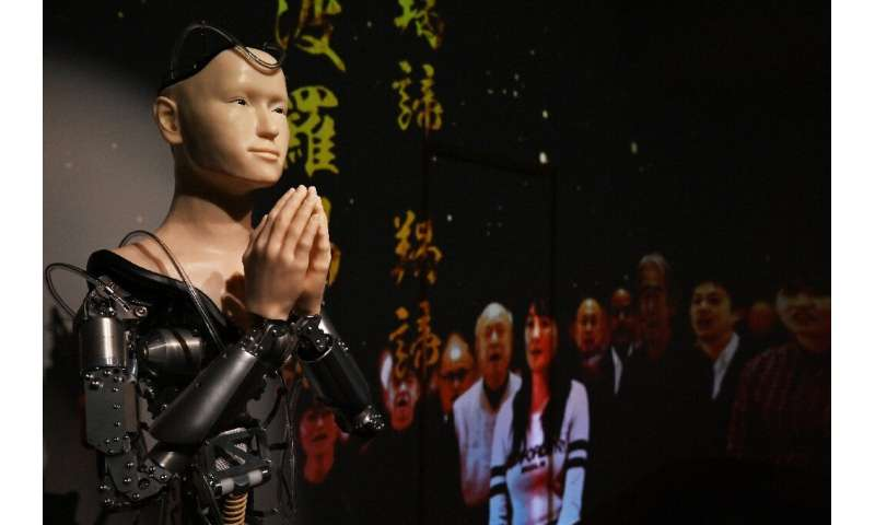 With religion's influence on daily life flat-lining in Japan, proponents hope Kodaiji's robot priest will be able to reach young