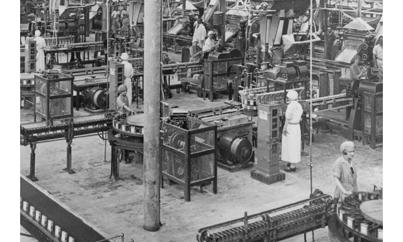 Women's labour force transformation dates back to the Great Depression