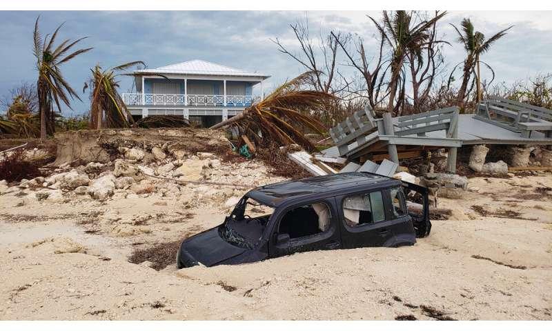 Wood documents Hurricane Dorian's impact on the Bahamas