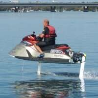 World's first electric hydrofoil jet ski
