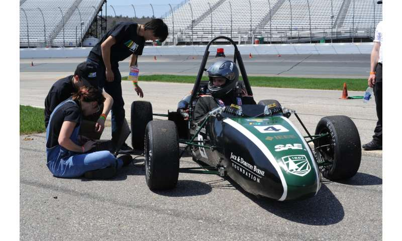 World S Top Engineering Students Design And Build Earth Friendly Cars At Formula Hybrid Competition